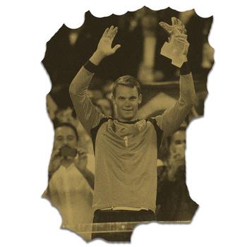 Goldener Handschuh