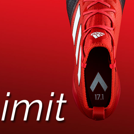 ADIDAS RED LIMIT SHOES
