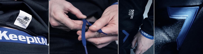 KEEPERsport RegSkin Produkte, speziell für Regentage entwickelt