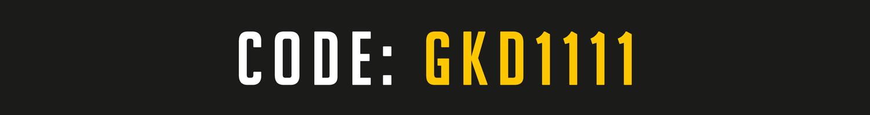 Goalkeeperday Code GKD1111