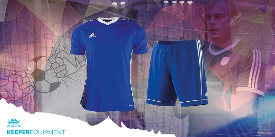 Shirt und Short von adidas