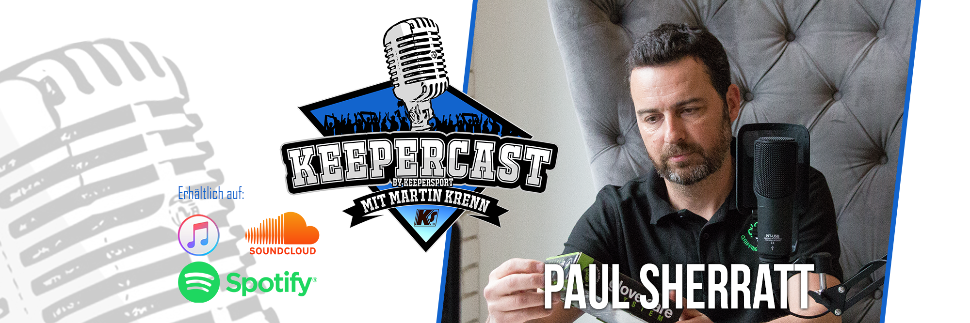 KEEPERcast mit Paul Sherratt