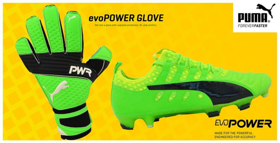 Pack Puma evoPOWER Vigor gants + chaussures