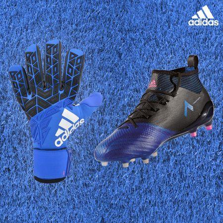 Gants + chaussures Ace Blue Blast Pack