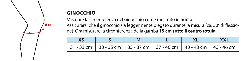 Misurare Ginocchio