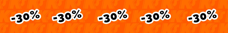 megasale -30% brankár SALE